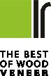 Logo Furnier, das best vom Holz